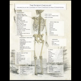 Patient Checklist Poster for Doctors 4 | Photos and Images | Health and Fitness