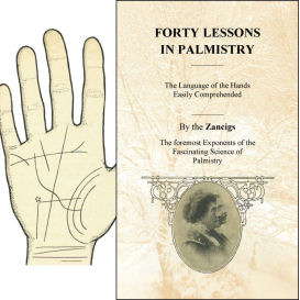 forty lessons in palmistry book