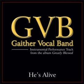 he's alive (gaither version) full orchestra with ttbb, solo, satb