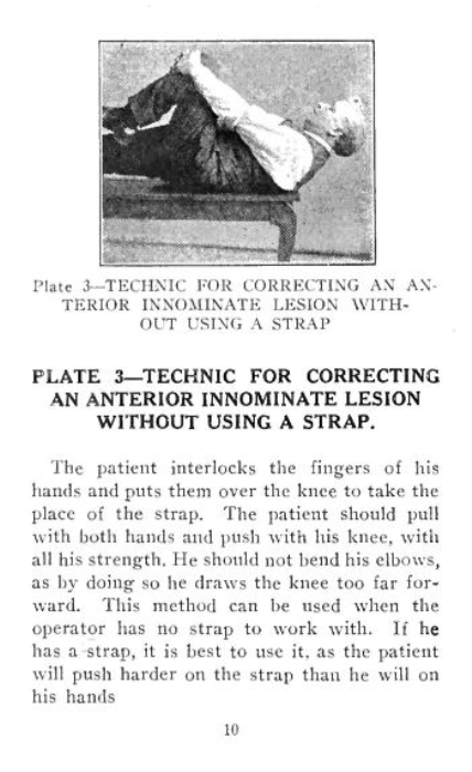 Third Additional product image for - Osteopathic Strap Technique