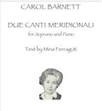 Due Canti Meridionali (PDF) | Music | Classical