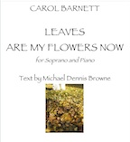 Leaves Are My Flowers Now (PDF) | Music | Classical