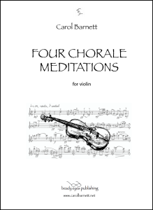 Four Chorale Meditations (PDF) | Music | Classical