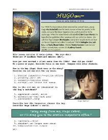 hugo,  whole-movie english (esl) lesson