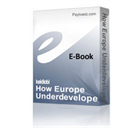 How Europe Underdeveloped Africa on MP3 | Audio Books | History