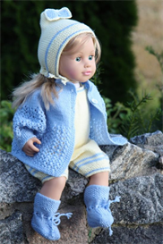 dollknittingpattern 0031d noah and nora jacket-cap for noah-socks-pant a
