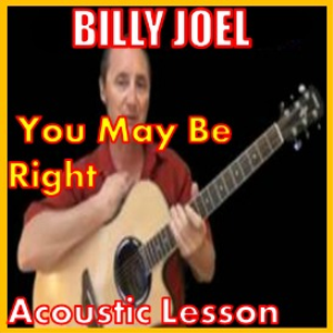 learn to play you may be right by billy joel