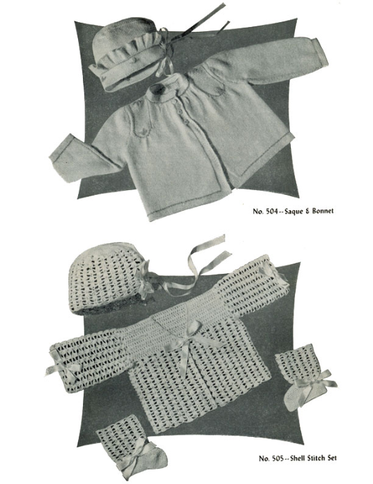 Second Additional product image for - Baby Book | Volume 95 | Doreen Knitting Books DIGITALLY RESTORED PDF