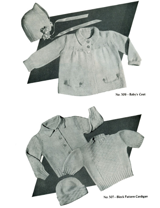 Third Additional product image for - Baby Book | Volume 95 | Doreen Knitting Books DIGITALLY RESTORED PDF