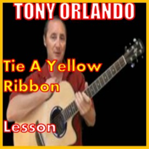 learn to play tie a yellow ribbon by tony orlando
