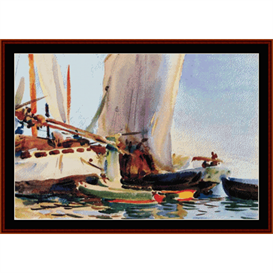 Giudecca - Sargent cross stitch pattern by Cross Stitch Collectibles | Crafting | Cross-Stitch | Other