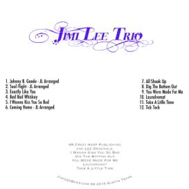 Jimi Lee Trio CD | Music | Blues