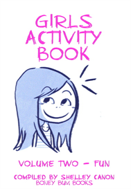 girls fun activity book