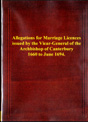 Vicar General Marriages | eBooks | Reference