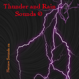 thunder and rain sounds 1hr