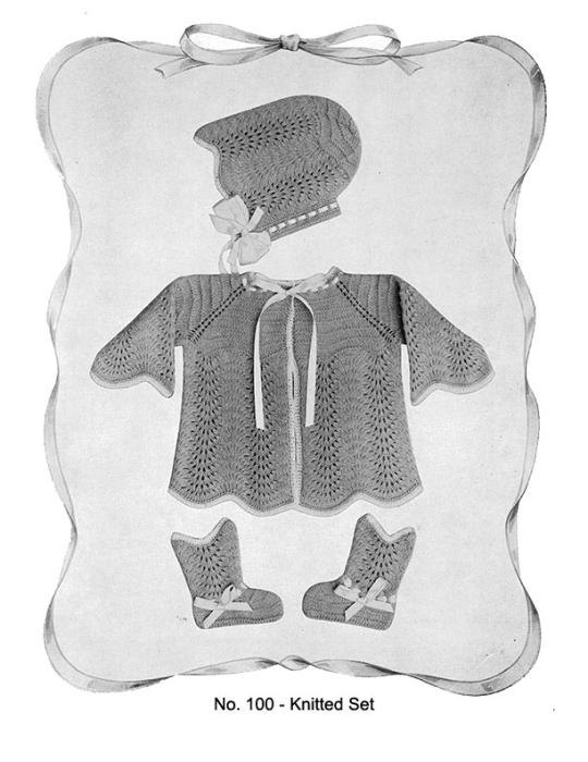 First Additional product image for - Baby Gems   Volume 100   Doreen Knitting Books DIGITALLY RESTORED PDF