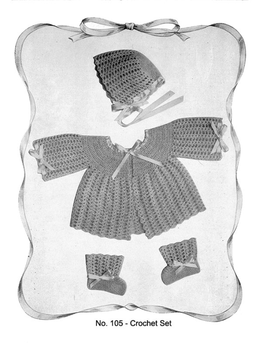 Fourth Additional product image for - Baby Gems   Volume 100   Doreen Knitting Books DIGITALLY RESTORED PDF