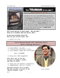 the truman show,  whole-movie english (esl) lesson