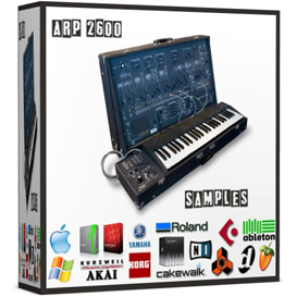 arp2600 arp 2600 reason kontakt logic exs24 soundfont sf2 fl studio vintage synthesizer saqmple