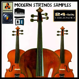 modern strings orchestra reason kontakt soundfont fl studio apple logic exs24