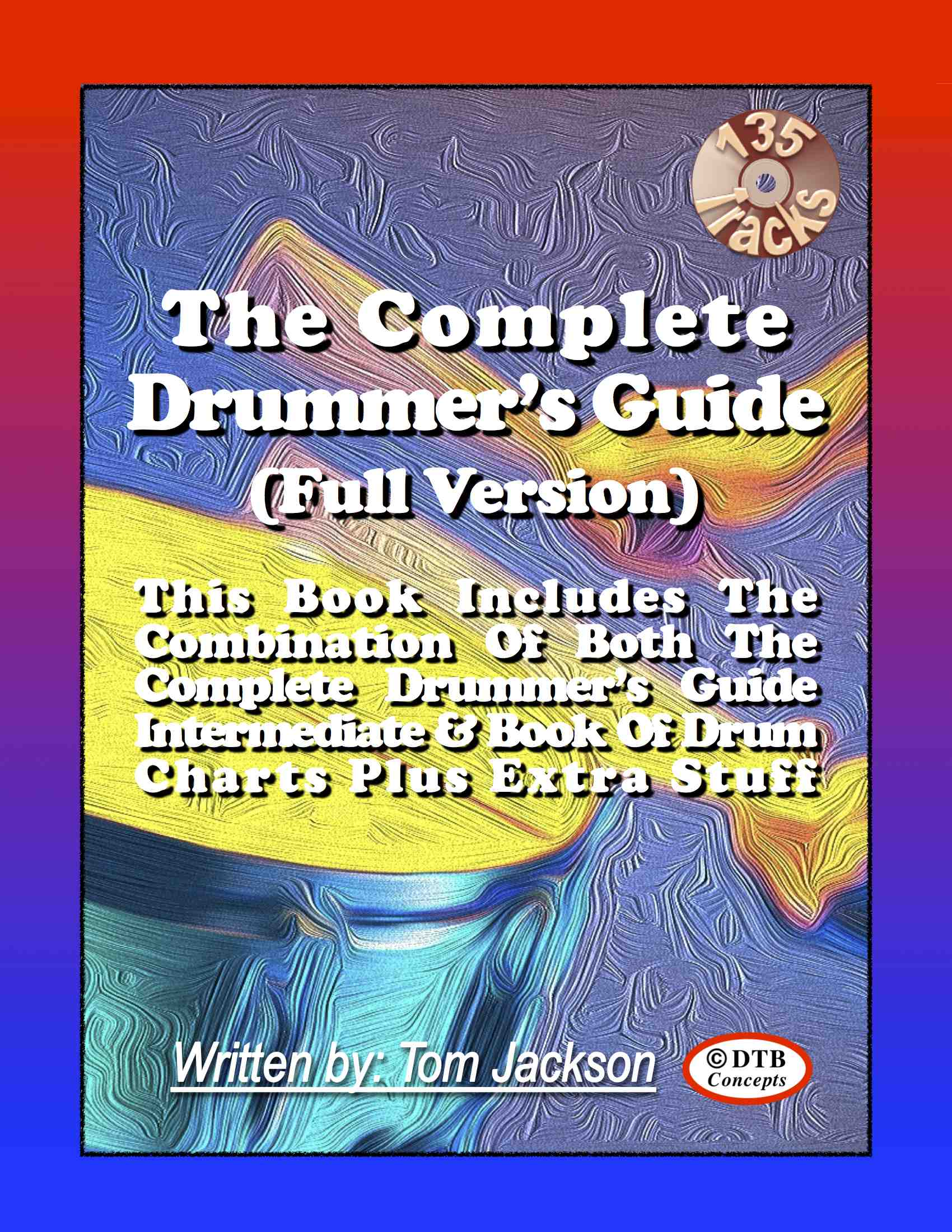 Fourth Additional product image for - The Complete Drummer's Guide (Full Version) Plus The Complete Drummer's Guide (Book of Transcriptions)