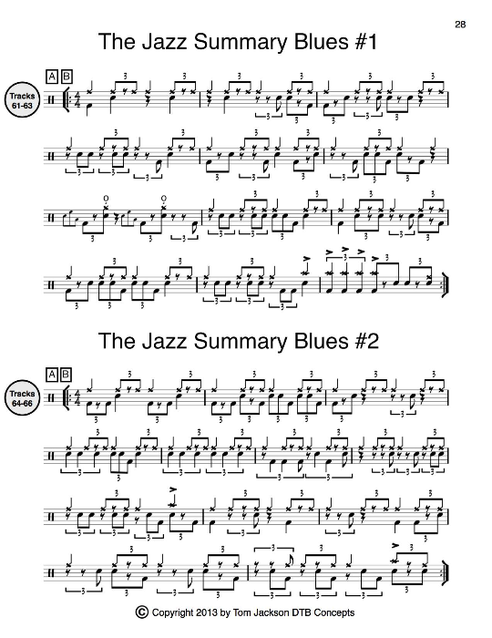 Third Additional product image for - The Complete Drummer's Guide (Full Version) Plus The Complete Drummer's Guide (Book of Transcriptions)