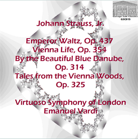 waltzes of johann strauss, jr. - virtuoso symphony of london - emanuel vardi