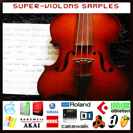 super violon violons reason kontakt logic exs24 soundfont fl studio samples | Music | Soundbanks
