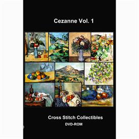Cezane  Vol. 1 Cross Stitch Collection - 10 cross stitch pattern by Cross Stitch Collectibles   Crafting   Cross-Stitch   Wall Hangings