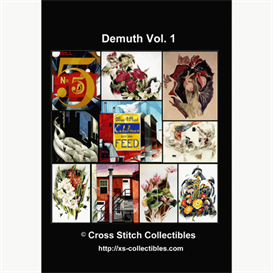 charles demuth vol 1cross stitch collections - 10 cross stitch pattern by cross stitch collectibles