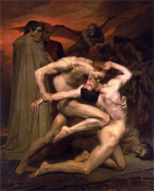 image photo dante and virgil in hell bouguereau