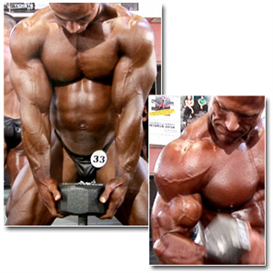 13171 - 2011 npc national championships men's bodybuilding pump room part 1 (hd)