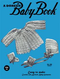 Baby Book | Volume 92 | Doreen Knitting Books DIGITALLY RESTORED PDF | Crafting | Knitting | Baby and Child