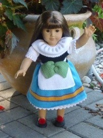Doll Knitting Pattern - C004 - Italy - Traditional Costume | Crafting | Sewing | Dolls and Toys