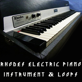 rhodes vintage electric piano instrument loop reason kontakt logic exs24 sample