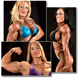 24054 - 2011 npc nationals womens backstage posing part 1 (hd)