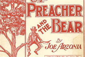 preacher and the bear for 5441 big band and vocal solo