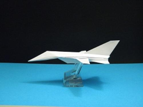 Second Additional product image for - Origami Panavia Tornado Tutorial Video