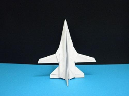 Third Additional product image for - Origami Panavia Tornado Tutorial Video