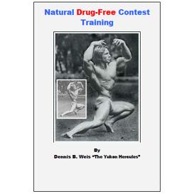 natural drug-free contest training