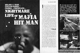 NIGHTMARE LIFE OF A MAFIA HIT MAN by Roland Empey (Walter Kaylin)   eBooks   Fiction