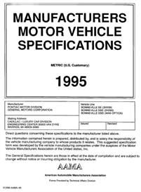 1995 pontiac bonneville mvma