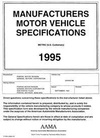 1995 pontiac grand am mvma