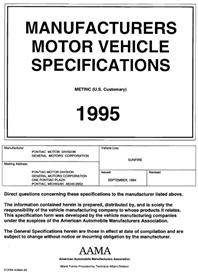 1995 pontiac sunfire mvma
