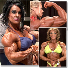 23094 - 2011 ifbb pbw championships women's bodybuilding backstage posing & pump room (hd)
