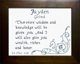 name blessings - jayden
