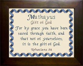 name blessings - mathayus