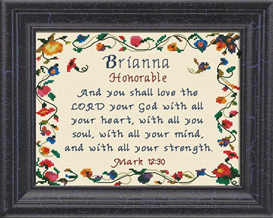 name blessings - brianna