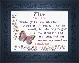Name Blessings - Elise | Crafting | Cross-Stitch | Other