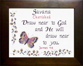 name blessings - savana